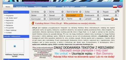 Katalog Stron i2e.pl – nowy wygląd