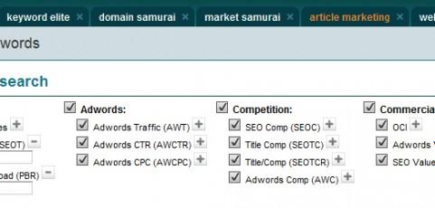 Market Samurai 40 dni za darmo