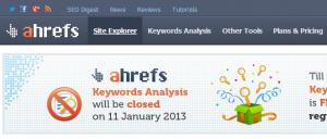 ahrefs - strona główna