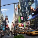 Bardzo udane zdjęcie jednej z piękniejszych i wypasionych ulic w NY.