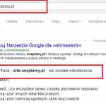 Dodaj stronę do Wyszukiwarki Google!